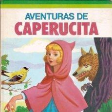Libros de segunda mano: AVENTUIRAS DE CAPERUCITA SUSAETA 1977. Lote 138961202