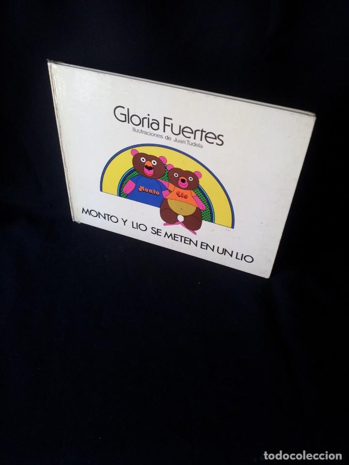 GLORIA FUERTES - MONTO Y LIO SE METEN EN UN LIO Nº 1 - EDITORIAL MONTOLIO, ILUSTRACIONES JUAN TUDELA (Libros de Segunda Mano - Literatura Infantil y Juvenil - Cuentos)
