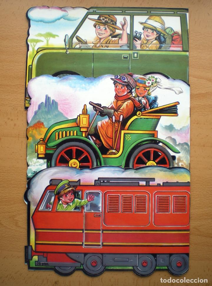 CUENTOS TROQUELADOS ESCRIBIR-PINTAR MIGUEL-CARLITOS-JAIME-ANA-JUANITO EDITORIAL GAVIOTA 1986 NUEVO (Libros de Segunda Mano - Literatura Infantil y Juvenil - Cuentos)