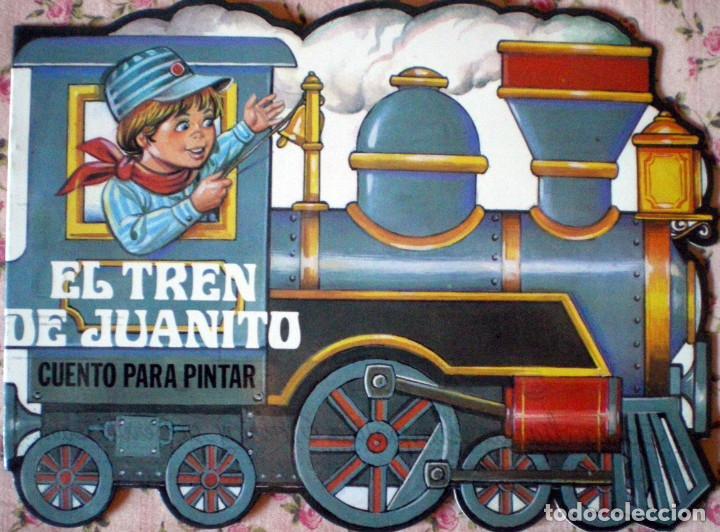 Libros de segunda mano: CUENTOS TROQUELADOS ESCRIBIR-PINTAR MIGUEL-CARLITOS-JAIME-ANA-JUANITO EDITORIAL GAVIOTA 1986 NUEVO - Foto 3 - 139085086