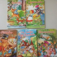 Libros de segunda mano: LOTE DE CUENTOS CLÁSICOS. Lote 139089861