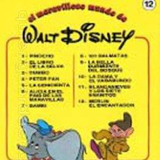 Libros de segunda mano: 5 CUENTOS EL MARAVILLOSO MUNDO WALT DISNEY 7-8-10-11-12 BRUGUERA 1986 NUEVO. Lote 139093018