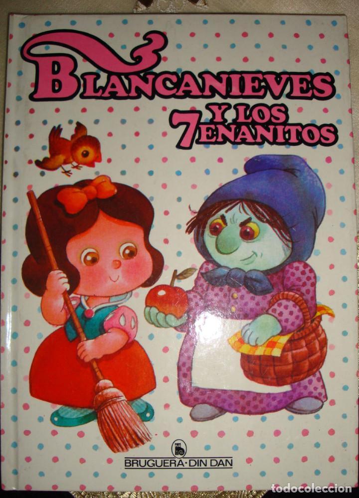 Libros de segunda mano: 2 CUENTOS Nº 2-3 DIN-DAN-LA CASITA DE CHOCOLATE-BLANCANIEVES-DIBUJOS DE JAN NUEVO 1985 - Foto 2 - 139098062