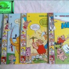 Libros de segunda mano: HANNA-BARBERA 4 CUENTOS DE EDIPRINT 1984-LOS PICAPIEDRA-HUCK-WALLY GATOR Nº 32-34-35 Y 36. Lote 139104310