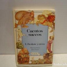 Libros de segunda mano: CUENTOS SUECOS - E. BESKOW - ILUSTRACIONES JOHN BAUER - ANAYA 1ª EDICIÓN 1986 - LAURIN. Lote 139365954