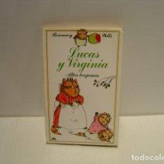 Libros de segunda mano: LUCAS Y VIRGINIA - ROSEMARY WELLS - ALTEA BENJAMÍN 1981. Lote 139366270