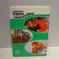 Libros de segunda mano: COLECCIÓN TRES ESMERALDAS VOL. 4 - ILUSTRACIONES FERNANDO SAEZ - SUSAETA 1980. Lote 139366418