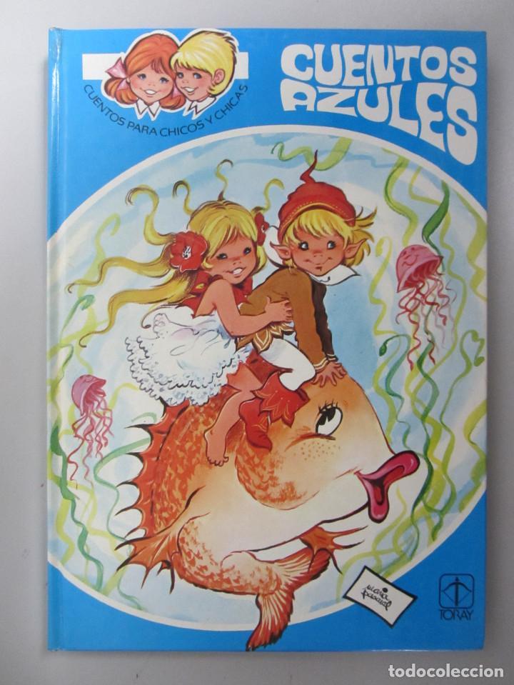 Libros de segunda mano: Cuentos azules. Ediciones Toray 1981. Números del 1 al 14. Tapa dura. Ilustrados - Foto 3 - 139524142