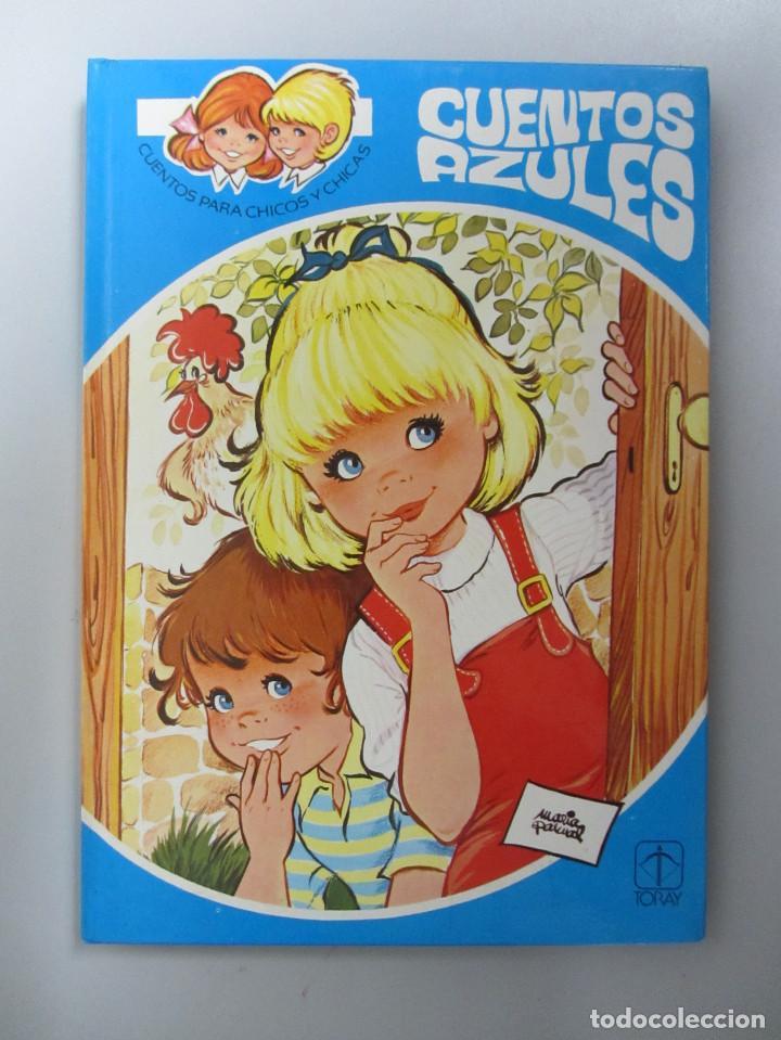 Libros de segunda mano: Cuentos azules. Ediciones Toray 1981. Números del 1 al 14. Tapa dura. Ilustrados - Foto 4 - 139524142