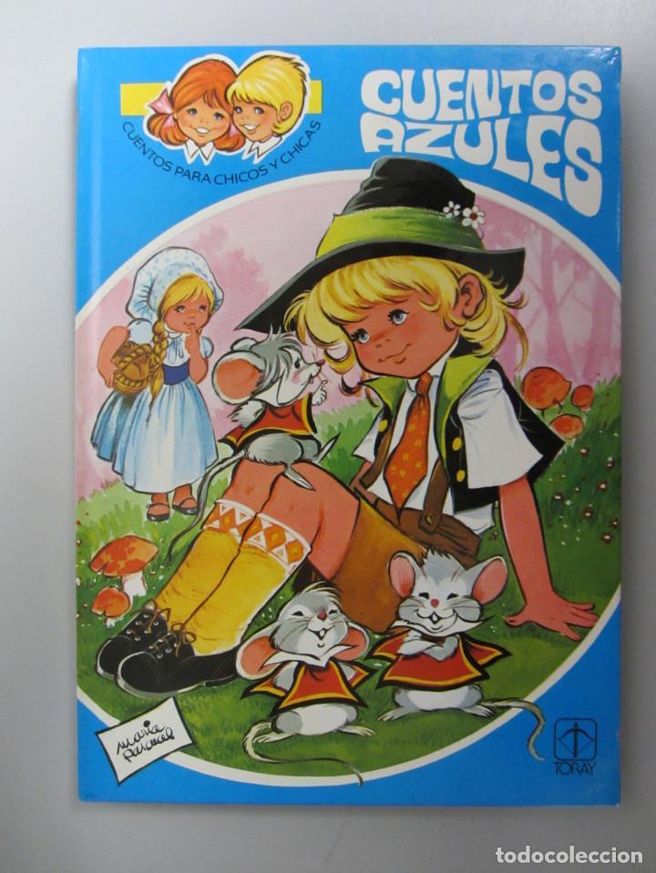 Libros de segunda mano: Cuentos azules. Ediciones Toray 1981. Números del 1 al 14. Tapa dura. Ilustrados - Foto 5 - 139524142