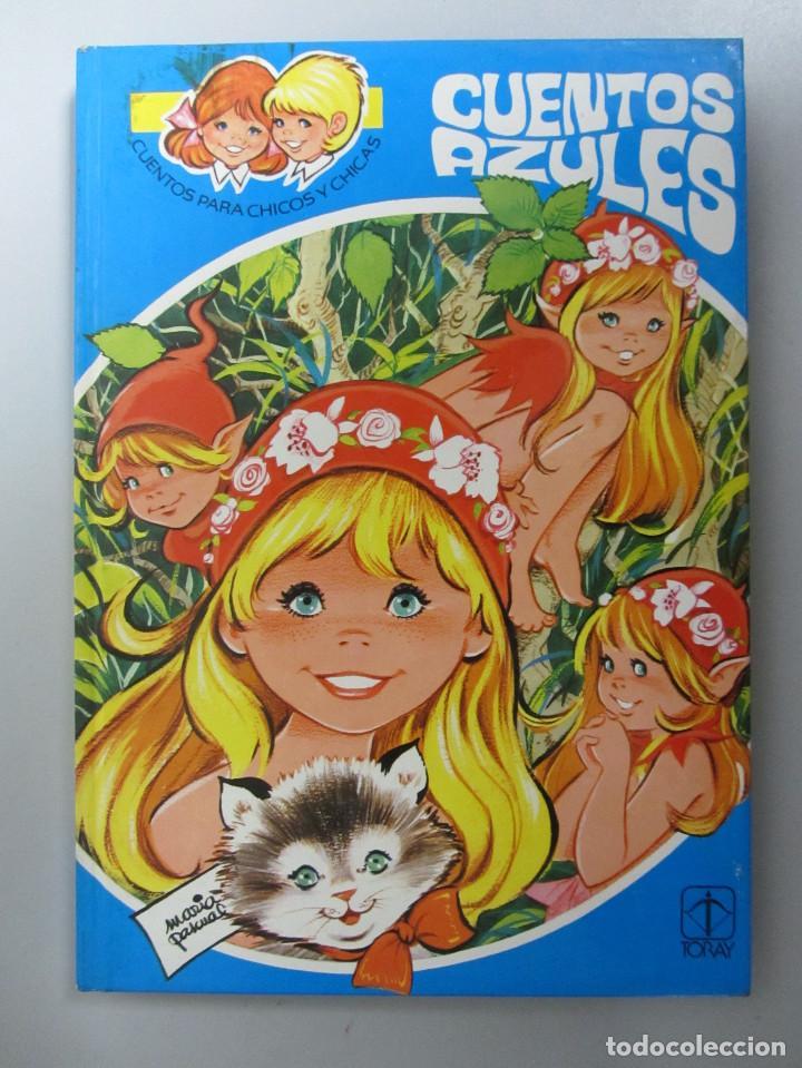 Libros de segunda mano: Cuentos azules. Ediciones Toray 1981. Números del 1 al 14. Tapa dura. Ilustrados - Foto 6 - 139524142