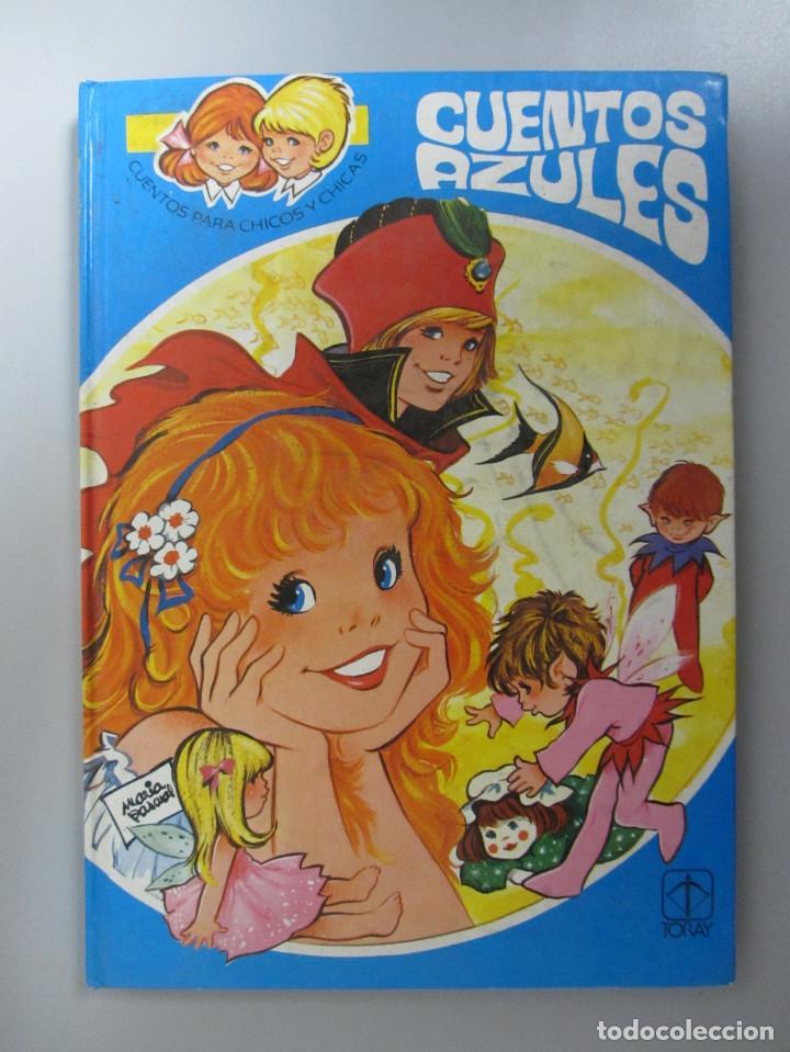 Libros de segunda mano: Cuentos azules. Ediciones Toray 1981. Números del 1 al 14. Tapa dura. Ilustrados - Foto 16 - 139524142