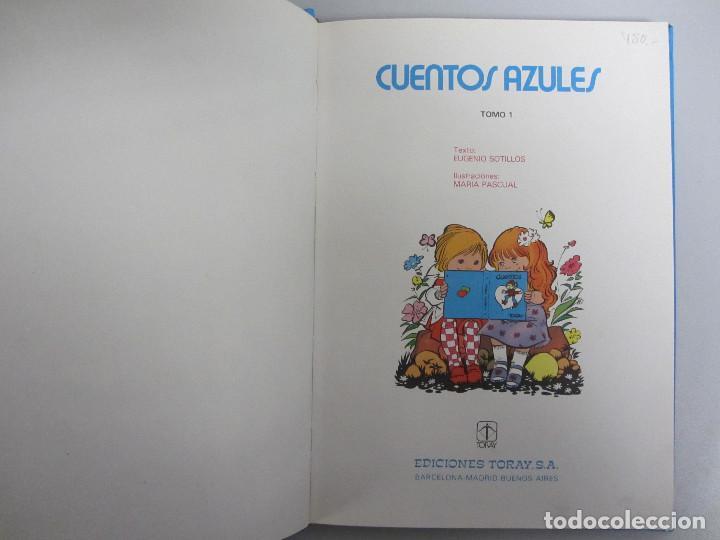 Libros de segunda mano: Cuentos azules. Ediciones Toray 1981. Números del 1 al 14. Tapa dura. Ilustrados - Foto 17 - 139524142