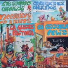 Libros de segunda mano: ANIMALES TRABAJADORES / 6 CUENTOS - SERIE COMPLETA / TAMAÑO GRANDE / EUROPA EDICIONES AÑO 1987. Lote 139575470