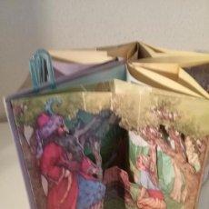 Libros de segunda mano: ALADINO Y LA LÁMPARA MARAVILLOSA LIBRO CARRUSEL POP UP PEEPSHOW BOOK. Lote 139790118