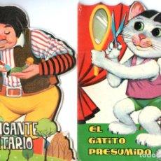 Libros de segunda mano: AYNÉ : EL GIGANTE SOLITARIO / EL GATITO PESUMIDO (TORAY, 1965) TROQUELADOS. Lote 139796662