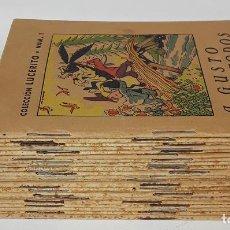 Libros de segunda mano: COLECCIÓN LUCERITO, 21 EJEMPLARES. M. BORRAT. EDIT. LUCERO. BARCELONA. S/F.. Lote 139810362