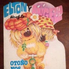 Libros de segunda mano: LOS WOOFITS ELTON Y ANGELA CUENTO TROQUELADO GAMA 1984 NUEVO OTOÑO NOS OFRECE SUS FRUTOS. Lote 139937334