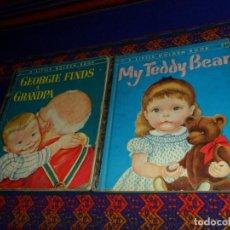 Libros de segunda mano: EN INGLÉS, A LITTLE GOLDEN BOOK 196 GEORGIE FINDS A GRANDPA Y 168 MY TEDDY BEAR. AÑO 1953. RAROS.. Lote 139938082