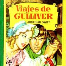 Libros de segunda mano: VIAJES DE GULLIVER - CORINTO BRUGUERA, 1964. Lote 140027602