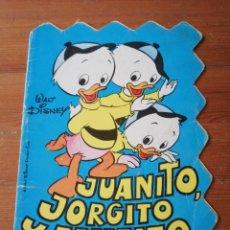 Libros de segunda mano: JUANITO, JORGITO Y JAIMITO. WALT DISNEY. CUENTOS TROQUELADOS.. Lote 140088738