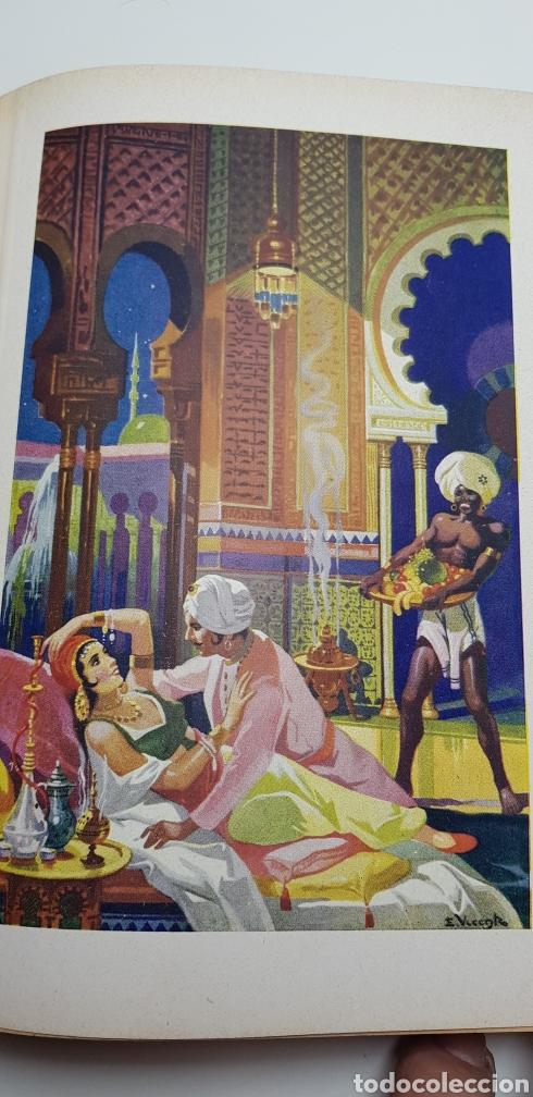 Libros de segunda mano: Las mil y una noches, Sopena 1941. - Foto 5 - 140161776