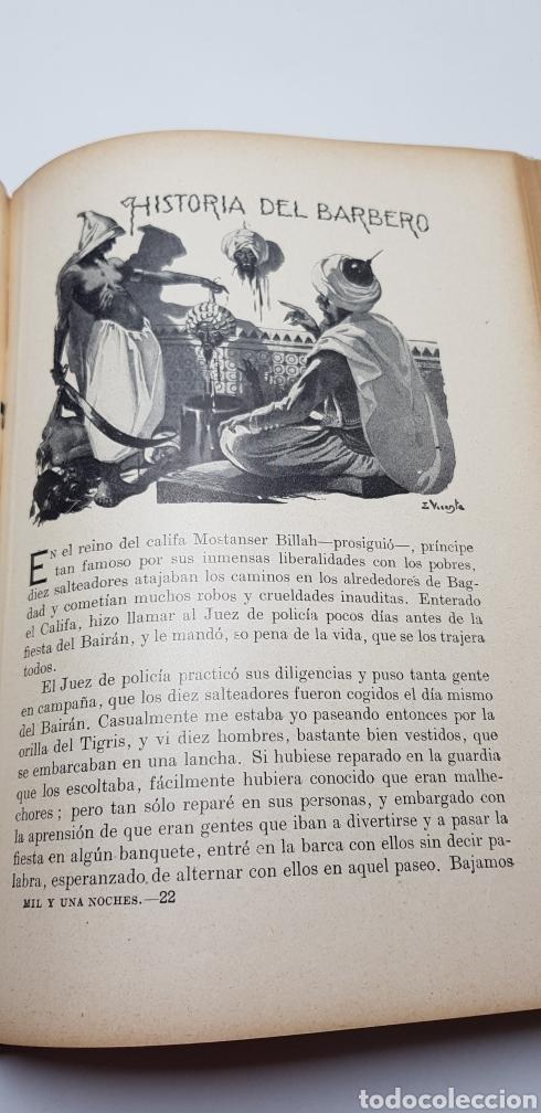 Libros de segunda mano: Las mil y una noches, Sopena 1941. - Foto 8 - 140161776