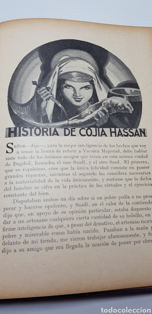 Libros de segunda mano: Las mil y una noches, Sopena 1941. - Foto 9 - 140161776