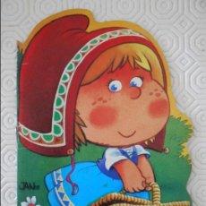 Libros de segunda mano: CAPERUCITA ROJA. CUENTO TROQUELADO DE EDICIONES DRUIDA. 1983.. Lote 140471154