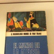 Libros de segunda mano: EL MUNDO DE LA ALEGRÍA EL MARAVILLOSOS MUNDO DE WALT DISNEY BURUNDI LAN. Lote 140504194