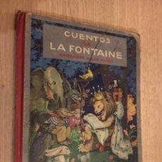 Libros de segunda mano: CUENTOS DE LA FONTAINE NARRADOS A LOS NIÑOS POR H. C. GRANCH 1944 MAUCCI. Lote 140642074