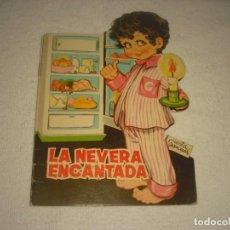 Libros de segunda mano: LA NEVERA ENCANTADA. CUENTO TROQUELADO TORAY .MARIA PASCUAL.. Lote 140646226