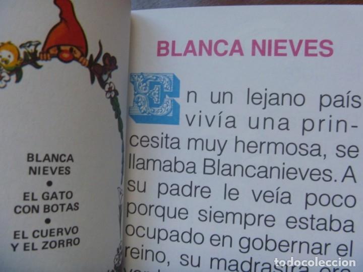Libros de segunda mano: FHER SELECCIÓN CUENTOS CLÁSICOS BLANCA NIEVE CAPERUCITA ROJA BELLA DURMIENTE ALI BABA... OPORTUNIDAD - Foto 3 - 140713158