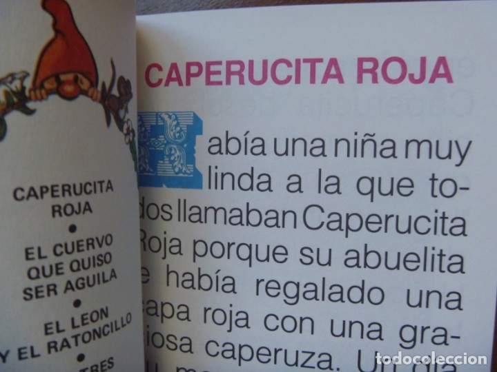 Libros de segunda mano: FHER SELECCIÓN CUENTOS CLÁSICOS BLANCA NIEVE CAPERUCITA ROJA BELLA DURMIENTE ALI BABA... OPORTUNIDAD - Foto 4 - 140713158