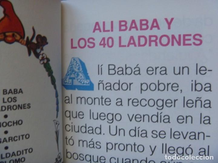 Libros de segunda mano: FHER SELECCIÓN CUENTOS CLÁSICOS BLANCA NIEVE CAPERUCITA ROJA BELLA DURMIENTE ALI BABA... OPORTUNIDAD - Foto 7 - 140713158