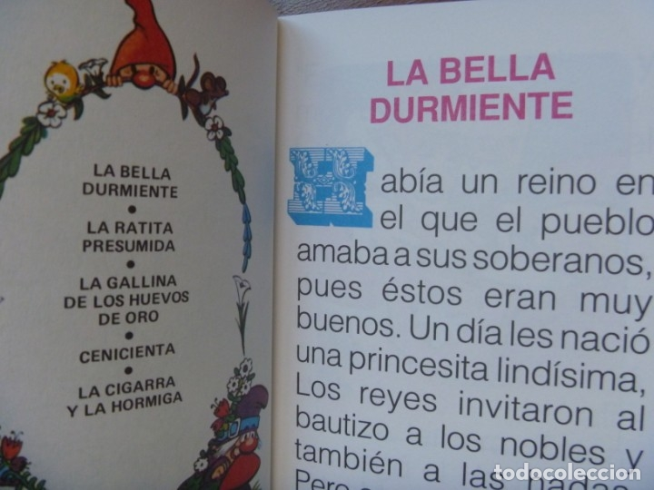 Libros de segunda mano: FHER SELECCIÓN CUENTOS CLÁSICOS BLANCA NIEVE CAPERUCITA ROJA BELLA DURMIENTE ALI BABA... OPORTUNIDAD - Foto 8 - 140713158