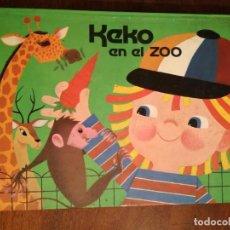Libros de segunda mano: LIBRO PRECIOSO PARA REGALO INFANTIL KEKO EN EL ZOO 3D DIORAMA 1977 NUEVO. Lote 140883866