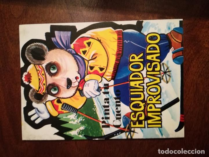 Libros de segunda mano: 11 cuentos preciosos mini la pastorcilla-Cenicienta- el perrito curioso Antalbe 1980 pinta tu cuento - Foto 13 - 101612347