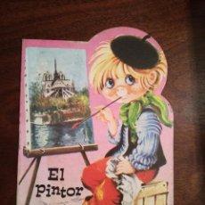 Libros de segunda mano: EL PINTOR-DIBUJANTE ESCARRA-MINI CUENTO COLECCIÓN PIRUETA Nº 7 AÑOS 70. Lote 140935366