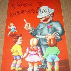 Libros de segunda mano: OJO Y PESTAÑA - ORBIS 1956 ORIGINAL - MUY BONITO Y EN MUY BUEN ESTADO. Lote 141202230