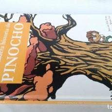 Libros de segunda mano: LA VERDADERA HISTORIA DE PINOCHO-URSA MINOR-MARGE BOOKS-LIBRO NUEVO. Lote 141448538