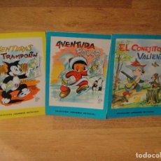 Libros de segunda mano: 3 CUENTOS COLECCION GRANDES NOTICIAS - EDITORIAL CANTABRICA AÑO 1967. Lote 141497022