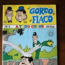 Libros de segunda mano: EL GORDO Y EL FLACO Nº 4 STAN LAUREL Y OLIVER HARDY COMIC MARCO IBERICA 1980. Lote 141632974