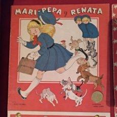 Libros de segunda mano: CUENTO RECORTABLE MARI-PEPA Y RENATA. Nº 44. ILUSTRACIONES MARÍA CLARET. Lote 141636273
