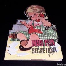 Libros de segunda mano: *MARI PEPA SECRETARIA* CUENTO TROQUELADO, MAGDA / PEÑUELAS, ED FERMA, BARCELONA, AÑO 1965.. Lote 141644880
