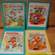 Libros de segunda mano: 4 CUENTOS COLECCION GRANDES NOTICIAS - EDITORIAL CANTABRICA AÑO 1967. Lote 141658702