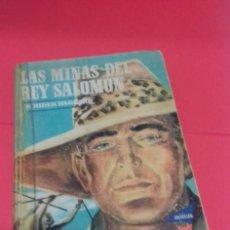 Libros de segunda mano: LAS MINAS DEL REY SALOMÓN / H. RIDER HAGGARD. COLECCIÓN JEEP. AYMÁ. ILUSTRACIONES NOGUERAS. 1955. . Lote 141848378
