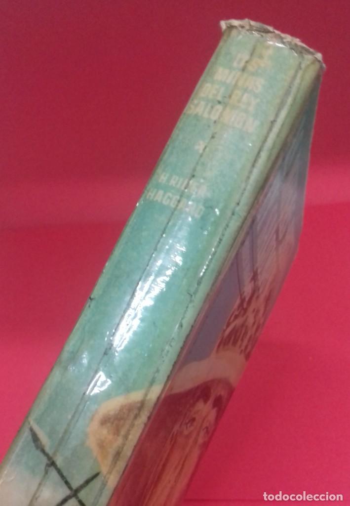 Libros de segunda mano: Las minas del Rey Salomón / H. Rider Haggard. Colección Jeep. Aymá. Ilustraciones Nogueras. 1955. - Foto 2 - 141848378