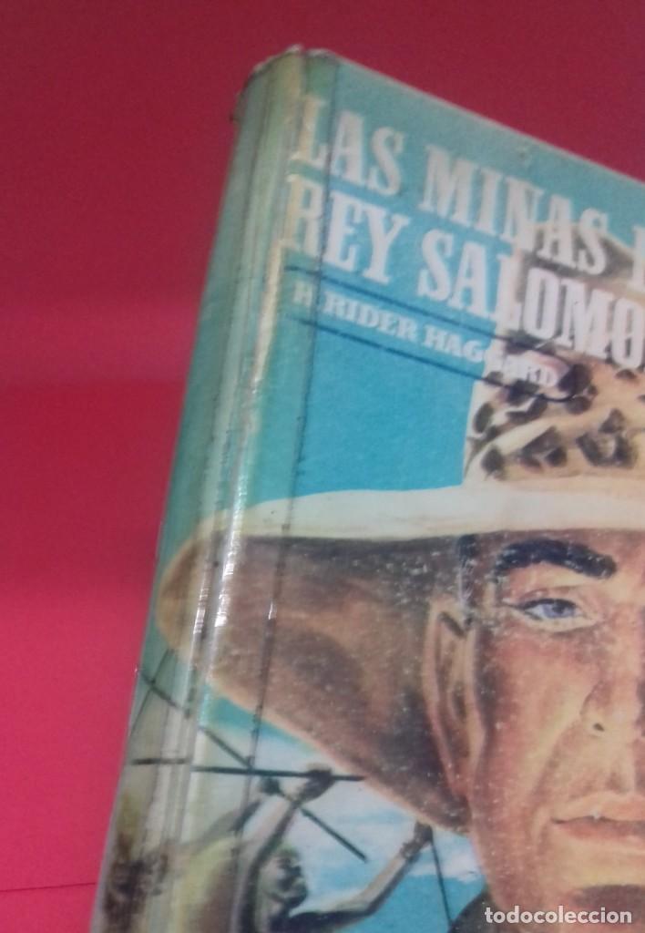 Libros de segunda mano: Las minas del Rey Salomón / H. Rider Haggard. Colección Jeep. Aymá. Ilustraciones Nogueras. 1955. - Foto 3 - 141848378