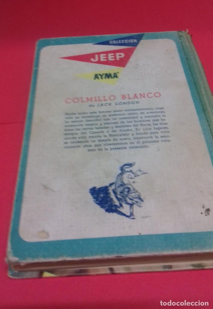 Libros de segunda mano: Las minas del Rey Salomón / H. Rider Haggard. Colección Jeep. Aymá. Ilustraciones Nogueras. 1955. - Foto 8 - 141848378